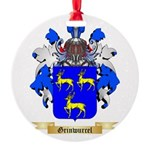 Grinwurcel Round Ornament