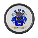 Grintuch Large Wall Clock