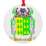 Grinter Round Ornament