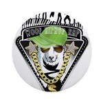 HipHop WOOF Ornament (Round)