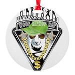 HipHop WOOF Ornament