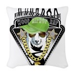 HipHop WOOF Woven Throw Pillow