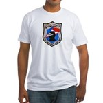 USS GALLANT Fitted T-Shirt
