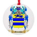 Grinishin Round Ornament