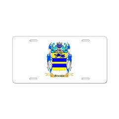 Grinishin Aluminum License Plate