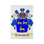 Grinhut Rectangle Magnet (100 pack)