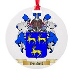 Grinfield Round Ornament