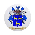 Grinfield Ornament (Round)