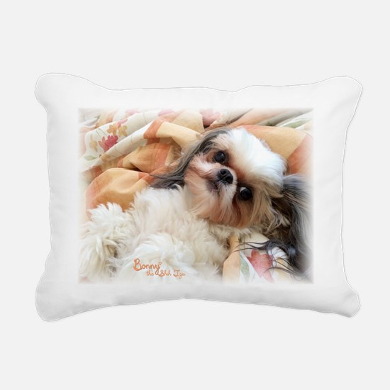 Bonnytheshihtzu_snuggles Rectangular Canvas Pillow