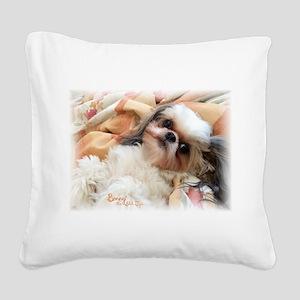 Bonnytheshihtzu_snuggles Square Canvas Pillow