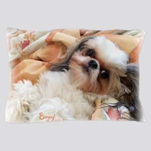BonnyTheShihTzu_Snuggles Pillow Case