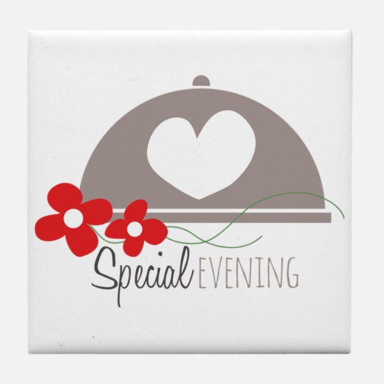 Special Evening Tile Coaster