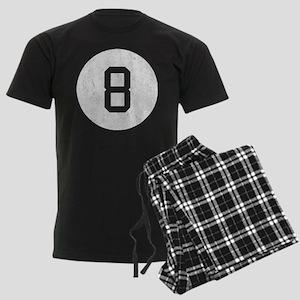 Vintage 8 Ball Men's Dark Pajamas