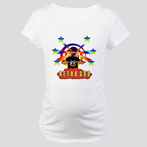 Retro God Maternity T-Shirt