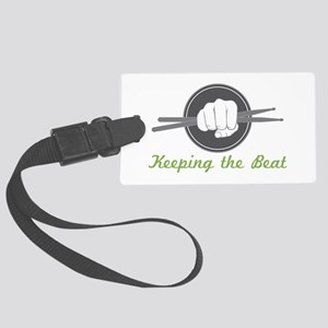 Fist With Drum Stick Luggage Tag