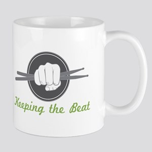 Fist With Drum Stick Mugs