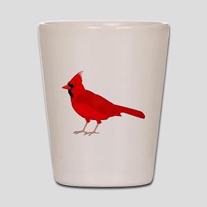 Claret Cardinal Shot Glass