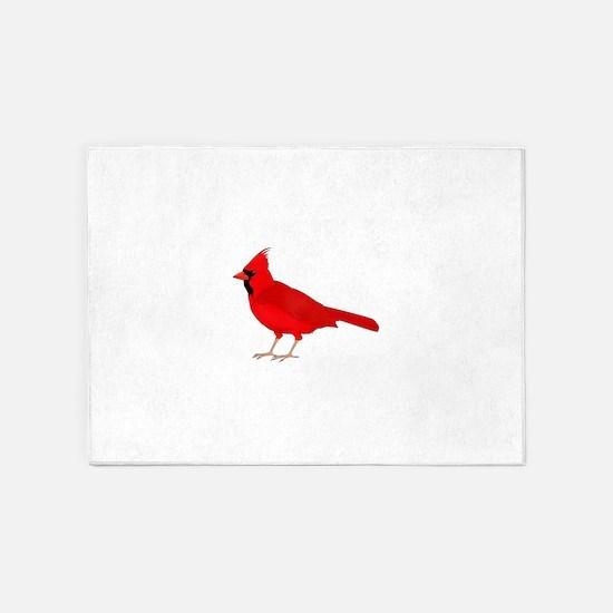 Claret Cardinal 5'x7'Area Rug