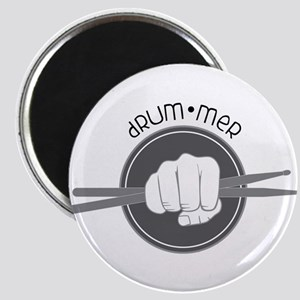 Fist With Drum Stick Magnets