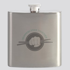Fist With Drum Stick Flask