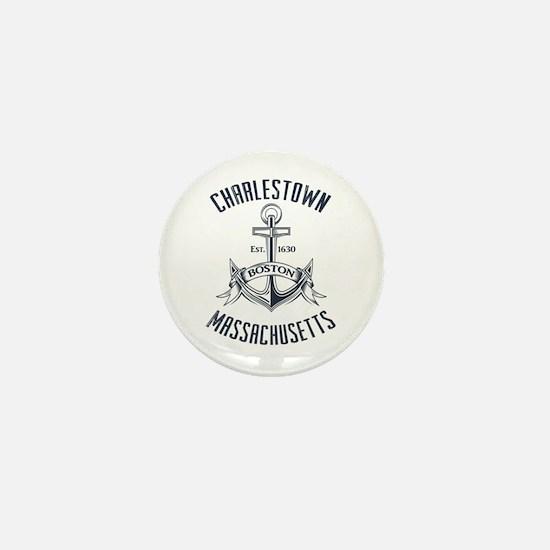Charlestown, Boston MA Mini Button