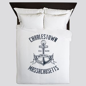 Charlestown, Boston MA Queen Duvet