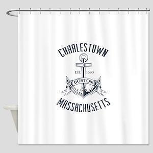 Charlestown, Boston MA Shower Curtain