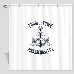 Charlestown Boston MA Shower Curtain