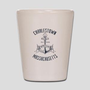 Charlestown, Boston MA Shot Glass