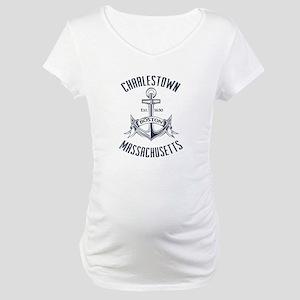Charlestown, Boston MA Maternity T-Shirt