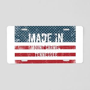 Made in Mount Carmel, Tenne Aluminum License Plate
