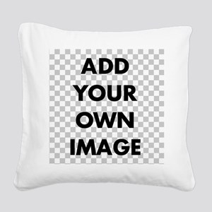 Custom Add Image Square Canvas Pillow