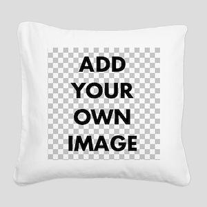 Custom Add Image Square Canvas Pillow