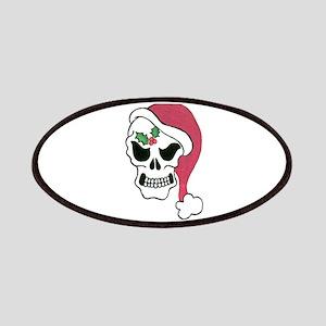 Santa Skull Patches