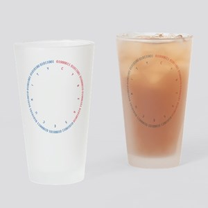 Cyber Security w/ Text RB Drinking Glass