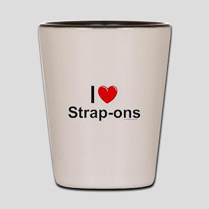 Strap-ons Shot Glass