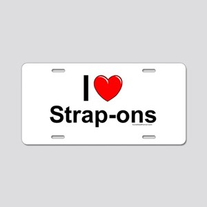 Strap-ons Aluminum License Plate
