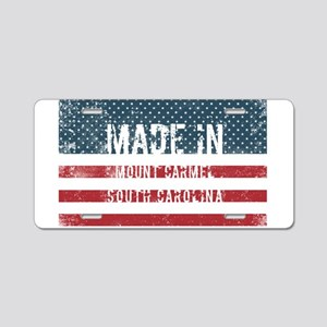 Made in Mount Carmel, South Aluminum License Plate