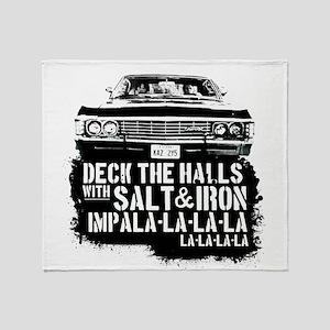 Supernatural Christmas T-Shirt (Deck Throw Blanket