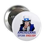 Americans Speak English Button