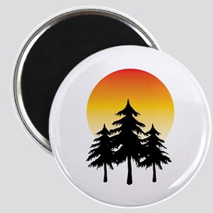 Moon Trees Magnets
