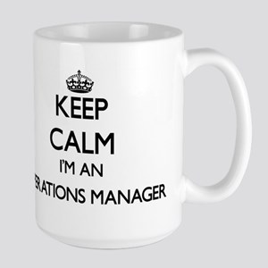Keep calm I'm an Operations Manager Mugs