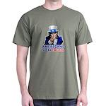 Americans Speak English Dark T-Shirt