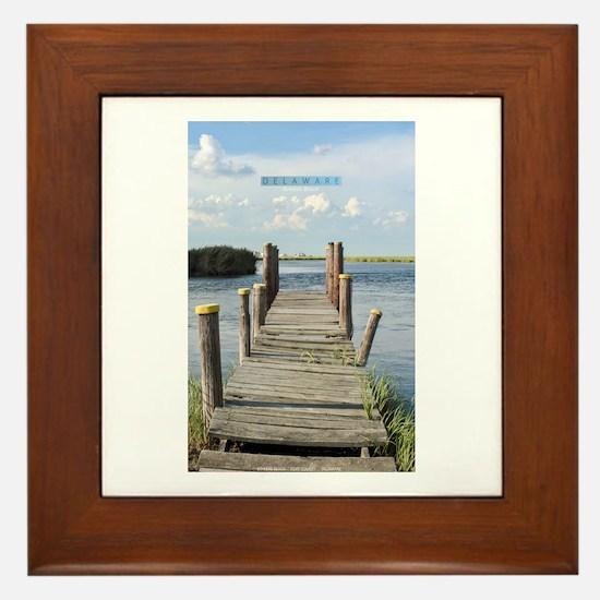 Delaware. Framed Tile