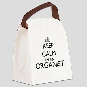 Keep calm I'm an Organist Canvas Lunch Bag