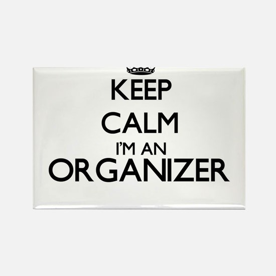 Keep calm I'm an Organizer Magnets