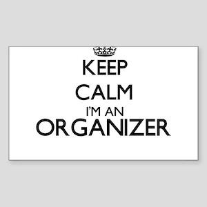 Keep calm I'm an Organizer Sticker