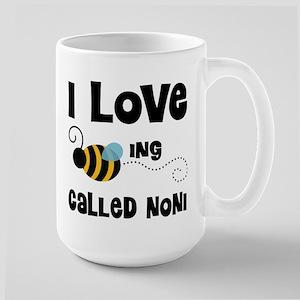 I Love Being Called Noni Large Mug