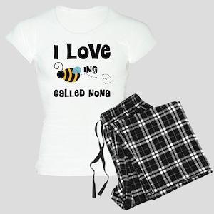 I Love Being Called Nona Women's Light Pajamas