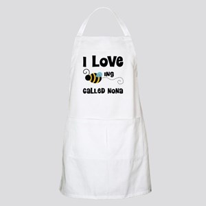 I Love Being Called Nona Apron